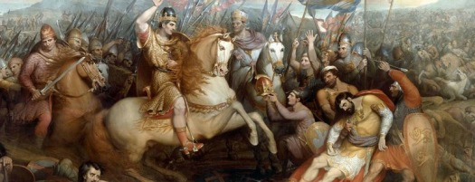 battle_of_hastings_painting_1820_Wilkin